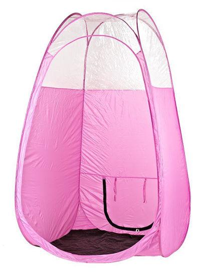 Tanningkabine Pop-Up Zelt Spray Tanning Pink