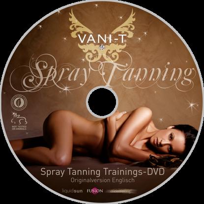 Bild von Vani‐T Spray Tanning Trainings/Demo DVD